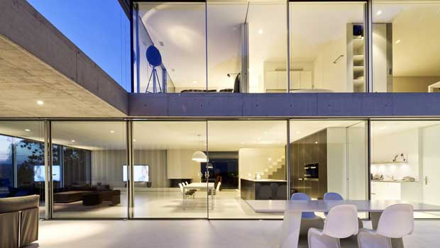 Frameless Sliding Door by Sky-Frame